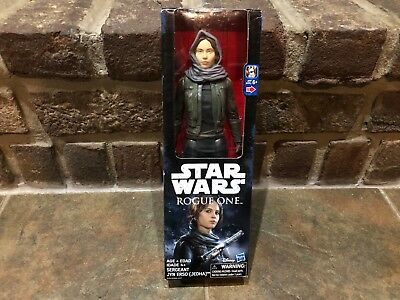 """Star Wars Rogue One Sergeant Jyn Erso (Jedha) 12"""" Action Figure Hasbro New 2016"""