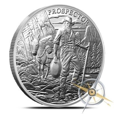 10 - 1 oz .999 Silver Rounds - Provident Prospector - Uncirculated - New