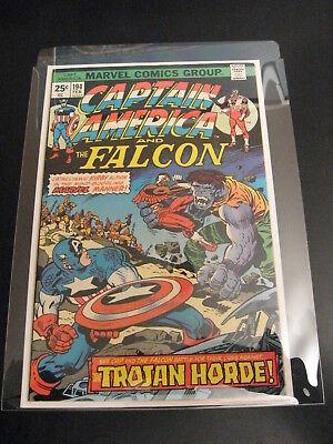 HOLY GRAIL!! CAPTAIN AMERICA #194 (VF-) ***SIGNED BY JACK KIRBY!!*** (Pg. 1)