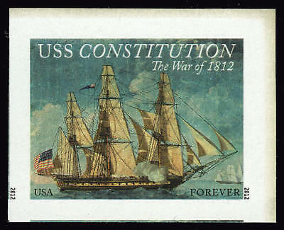 US 4703a Imperf War of 1812 USS Constitution JUMBO Single VF NH MNH