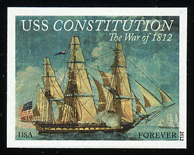 US 4703a Imperf War of 1812 USS Constitution Single VF NH MNH
