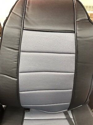 Sensational Seat Cover W Pocket All Black Faux Leather Peterbilt Ocoug Best Dining Table And Chair Ideas Images Ocougorg