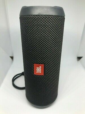 JBL Flip 3 Splashproof Portable Bluetooth Speaker Black AS IS