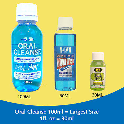Drug Detox Mouthwash for help passing saliva drug test - Oral Cleanse