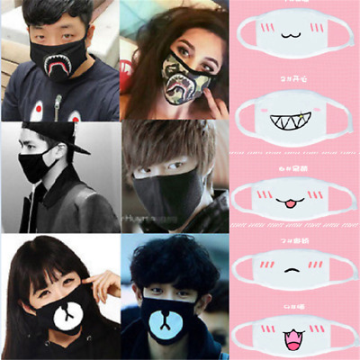 Anime Winter Warm Mouth Anti-Dust Flu Face Mask Unisex Surgical Respirator Mask