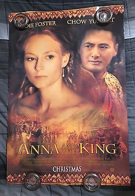 ADVANCE ORIGINAL ANNA AND THE KING MOVIE POSTER LARGE 27x40 ROLLED 2 SIDED 1SH