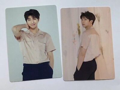 Bts Love Yourself Tour In Seoul Mini Photocards Rm  [ 4,5 ]