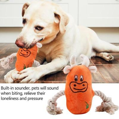 Pet Puppy Chew Squeaky Plush Sound Toys Squeaker Animal Shape For Dog