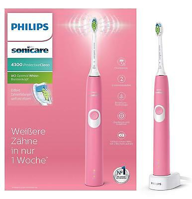 Philips Sonicare Protectiveclean 4300 Brosse à Dents Sonique HX6805/28 Rose