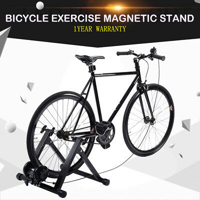 Heavy Duty Bike Bicycle Trainer Stand Indoor Cycling Exercise Workout Magnetic