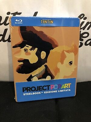 Le avventure di TinTin -blu ray-steelbook-limited edition-Project Popart limited