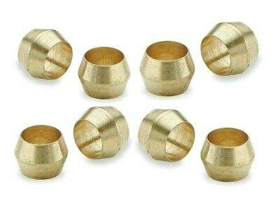 Brass Olives. 6mm. Compression. Pipe fitting. Pack of 5. *Top Quality!