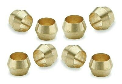 Brass Olives. 9mm. Compression. Pipe fitting. Pack of 5. *Top Quality!
