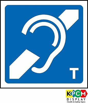 Induction Loop Logo Safety sign