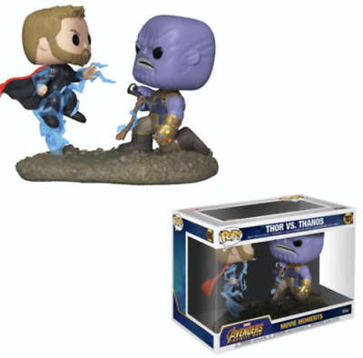 Funko POP! Movie Moment: Thor vs. Thanos #707 - Marvel's  Avengers Infinity War