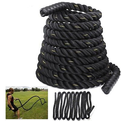 Battle Rope 38/50mm Battling Sport Bootcamp Gym  Exercise Fitness Training