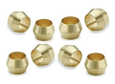Brass Olives. 3/16 Inches. Compression. Pipe fitting. Pack of 5. *Top Quality!