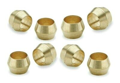 Brass Olives. 5/16 Inches. Compression. Pipe fitting. Pack of 5. *Top Quality!