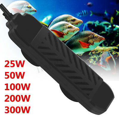 25-300W Mini Aquarium Heater Submersible Fish Tank Adjustable Water