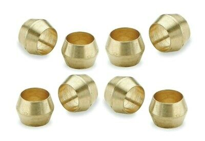Brass Olives. 5/8 Inches. Compression. Pipe fitting. Pack of 5. *Top Quality!