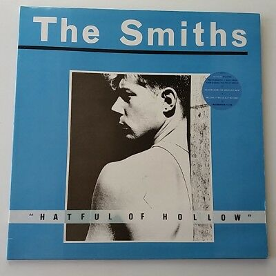 The Smiths - Hatful of Hollow Vinyl LP UK 1st Press A1/B3 Missing Dot Sleeve NM