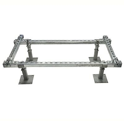 STRUT PRO ADJUSTABLE BASE PLATE FRAMEWORK 1200mm x (600mm-1500mm)