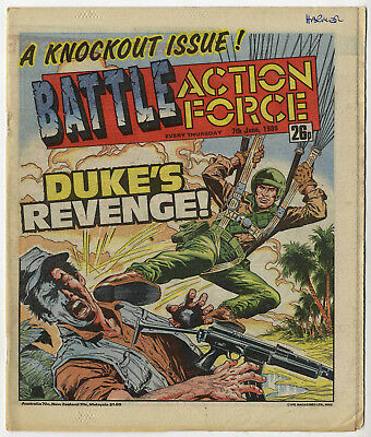 Battle Action Force 7th June 1986 (very high grade) Johnny Red, Charley's War