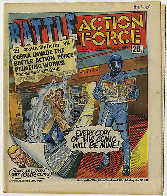 Battle Action Force 10th May 1986 (very high grade) Johnny Red, Charley's War