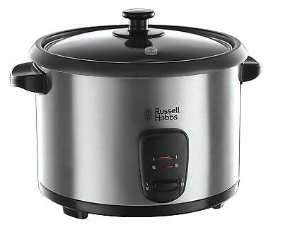Russell Hobbs 19750 Stainless Steel Rice Cooker and Steamer, 1.8 L - Silver