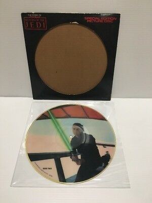 STAR WARS Story of Return of the Jedi PICTURE DISC Special edition 1983