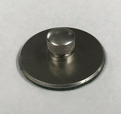 Nickel-Plated Victor Talking Machine Phonograph Turntable Record Hold Down Nut