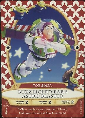 Sorcerer of the Magic Kingdom Card #03 Buzz Lightyear's Astro Blaster +2 - New