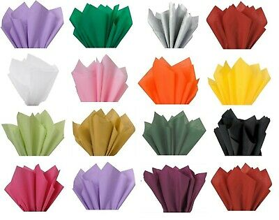 Acid Free Tissue Paper Sheets A3 , A4 , A5 Gift Wrapping Packaging 20+ Colours