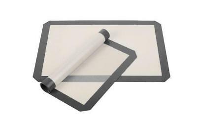 2 Pack Non Stick Silicone Baking Mats Sheets JOB LOT Stock Clearance UK SELLER
