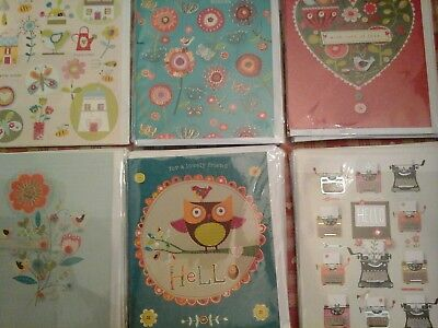 38 B Brown Cards, Wholesale Joblot Greeting Cards