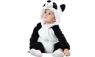 Newborn Kids Baby Animal Cosplay Costume Pajamas Soft Romper Jumpsuit Outfit Set