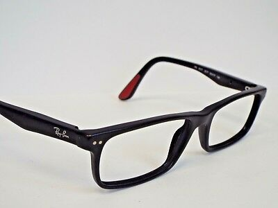 9d74c7fbf47 Authentic Ray-Ban RB 5277 2077 Matte Black Eyeglasses Frame Demo Model  208