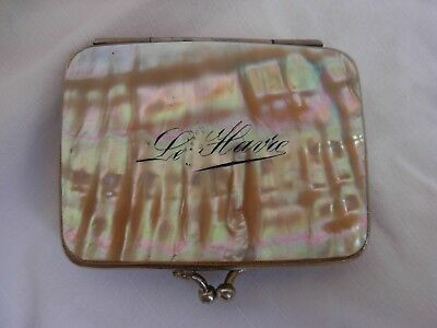 ANTIQUE FRENCH MOTHER OF PEARL,COIN PURSE,LATE 19th CENTURY.