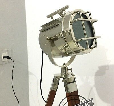 Vintage-Floor-Stand Lamps-Searchlight Room Decorative Cafe-Showroom-Floor-Lamps