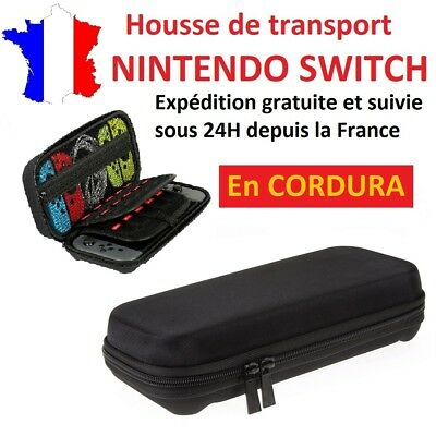 Housse de protection / sac de transport en CORDURA pour nintendo switch / étui