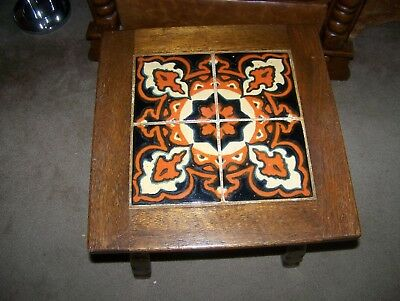 Vintage Mission California Tile Top Table -Catalina-Monterey -1930'S