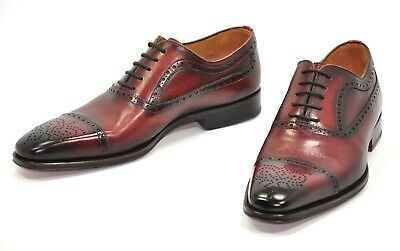 c3b140f6d4f Limited Ed PEBBLED Soft Leather Magnanni Faleo Leather Tassel Loafer  EU41 US8.