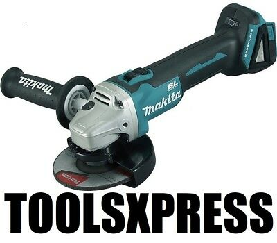"Makita DGA504Z 18V Li-ion Cordless 125mm (5"") Brushless Angle Grinder- Oz Model"
