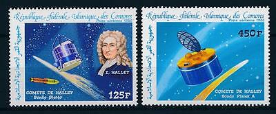 [64257] Comores Comoros 1986 Space Travel Weltraum Halley Comet From Set MNH
