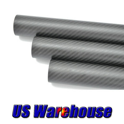 Carbon Fiber Tube OD 23mm x ID 21mm Roll Wrapped 3K Matt shaft
