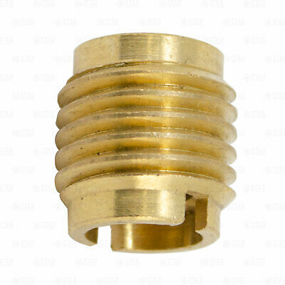 Beer Tap Handle Threaded Screw in Brass Faucet Insert Nut Ferrule 3/8 Threads