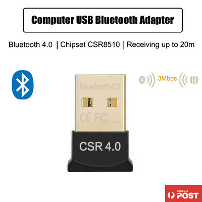 USB Bluetooth Wireless Adapter V4.0 Dongle Receiver Computer Bluetooth Adapter