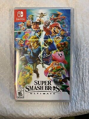 Super Smash Bros. Ultimate (Nintendo Switch) BRAND NEW STILL WRAPPED