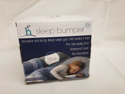 hiccapop Toddler Bed Rail Bumper Foam Safety Guard for Side with Water-resistant