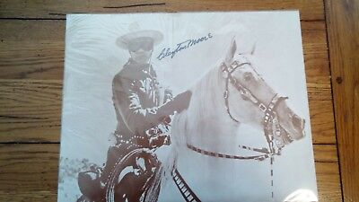 Clayton Moore  Hand Signed Lone Ranger 11X14 Photograph Authentic Autograph